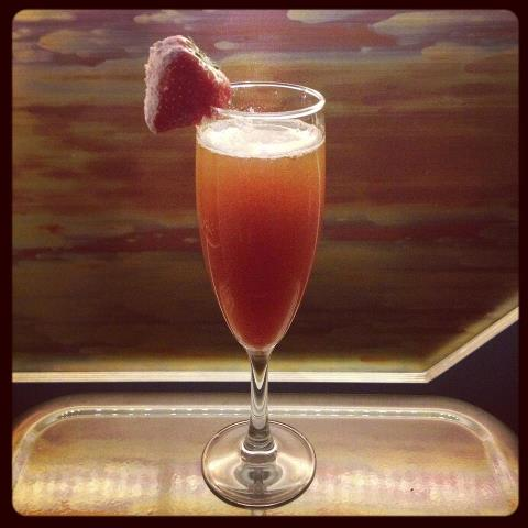 Strawberry Blonde at the Damson Diner (photo credit: Damson Diner on Facebook)
