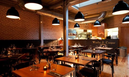 Inside Weafer & Cooper (photo credit: restaurant)